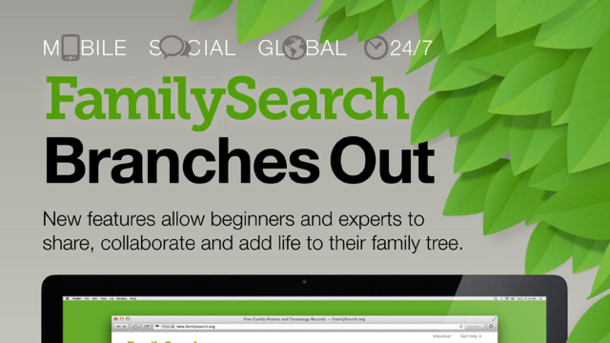 FamilySearch Website